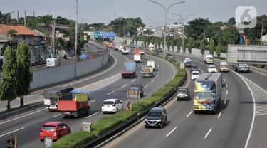 FOTO: Ada Larangan Mudik, Jalan Tol Dibatasi Mulai 24 April 2020