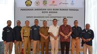 Pemerintah melalui Kementerian ESDM memperkuat dan memperluas cakupan layanan gas di wilayah Medan, Sumatra Utara.