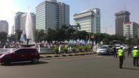 Kawasan Pastung Kuda jadi titik kumpul demo buruh