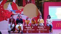 McDonald's Indonesia telah memilih 2 pemenang yang akan menjadi 'Duta Cilik 2018 FIFA World Cup' di Rusia