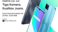 Realme memastikan akan memboyong smartphone tahan banting Realme C25 dan C21 ke pasar Indonesia (Foto: Realme)