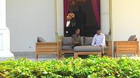 Kunjungan balasan Prabowo ke Istana Merdeka, Kamis (17/11/2016)
