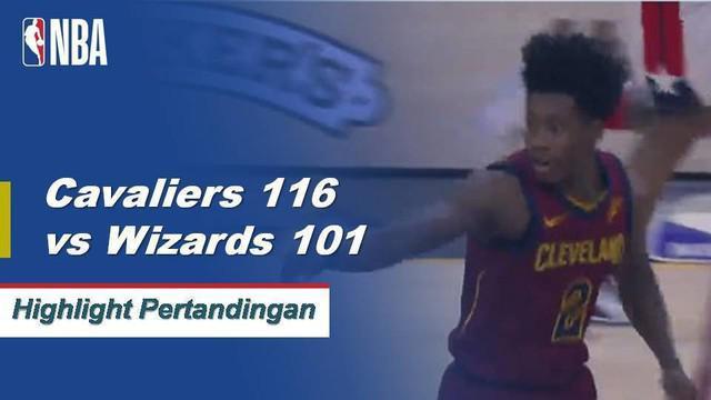 Collin Sexton memposting 29 poin dan enam assist untuk membantu Cavaliers mengalahkan Wizards, 116-101.