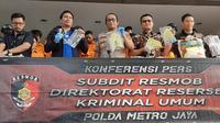 Aksi komplotan yang bobol ATM di Jakarta dan Depok digagalkan polisi. (LIputan6.com/Ady Anugrahadi)