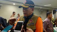 Kepala BNPB Doni Monardo di Malang, Jawa Timur (Liputan6.com/Zainul Arifin)