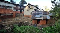 Contoh gubuk chhaupadi di Nepal, yang digunakan untuk mengasingkan perempuan haid atau pascamelahirkan (AFP PHOTO)