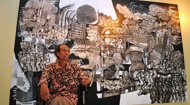Jakarta 18 Painting Exhibition - Sri Warso Wahono 0515 3