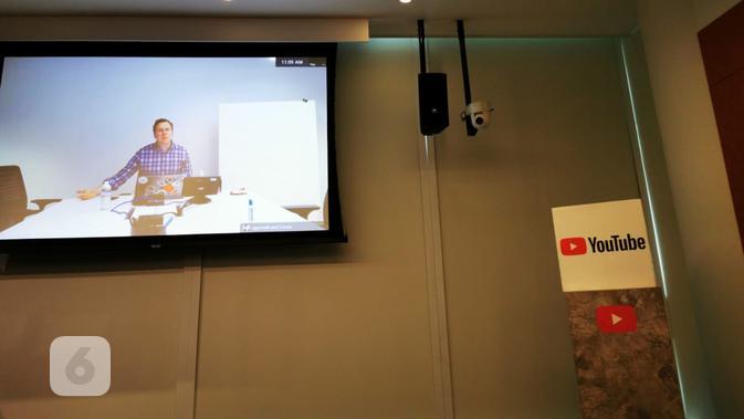 Group Product Manager Google Brandon Bilinski. Liputan6.com/Mochamad Wahyu Hidayat