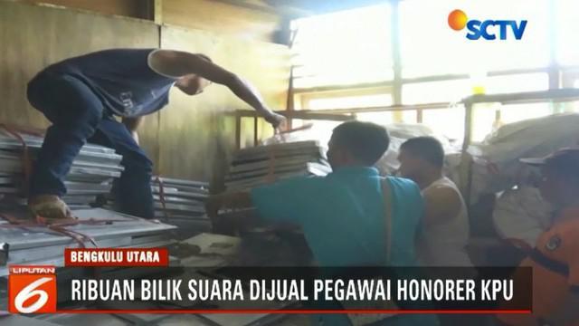 Tim penyidik Satreskrim Polres Bengkulu Utara sudah menangkap Anggi Valentino, tersangka utama dalam kasus hilangnya bilik suara tersebut.