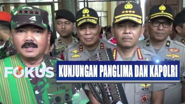Kapolri Jenderal Polisi Idham Azis meminta masyarakat agar melaporkan segala sesuatu yang mencurigakan atau berpotensi menggangu kantibmas.