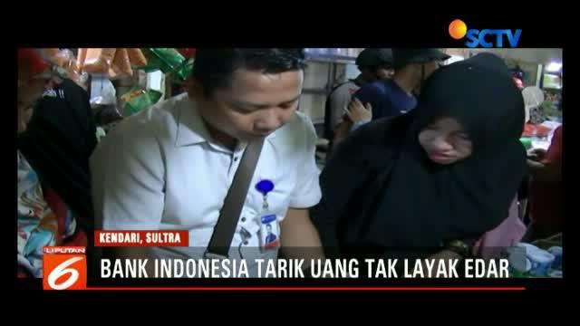 Dalam sebulan terakhir BI Sulawesi Tenggara sudah memusnahkan 125 miliar uang tidak layak edar.