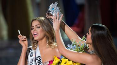 20151220-Begini Wajah Miss Colombia Saat Batal Jadi Miss Universe-Amerika