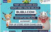Pembelian tiket Asian Games 2018 dialihkan ke Blibli.com (Foto: Screenshot kiosTix.com)