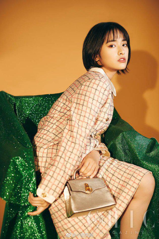 Shen Yue ini belum lama kok di dunia hiburan China. Wanita kelahiran 27 Februari 1997 ini baru terjun di dunia akting tahun 2017 lewat 'Autumn Harvest Uprising' dan 'Let's Shake It'. Tapi saat itu dia belum begitu dikenal./Copyright Istimewa/pit