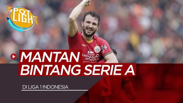 Berita Video Spotlight 5 Mantan Pemain Serie A yang Bermain di Liga 1 Indonesia Termasuk Marco Motta di Persija