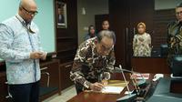 Penandatanganan Perjanjian Pengusahaan Jalan Tol (PPJT) ruas Binjai-Langsa (dok: Hutama Karya)