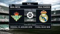La Liga Real Betis Vs Real Madrid (Bola.com/Adreanus Titus)
