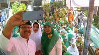 Calon Gubernur Jawa Timur nomor urut 2 Saifullah Yusuf atau Gus Ipul. (Liputan6.com/Dian Kurniawan)