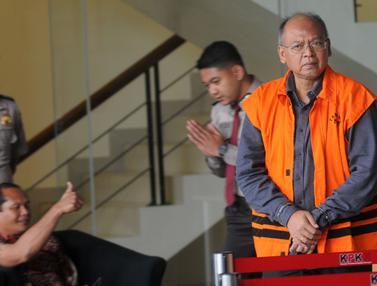 Bupati Malang Nonaktif Rendra Kresna Usai Diperiksa KPK