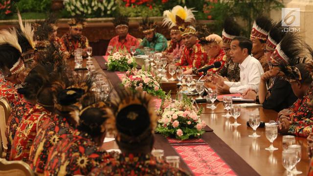 Jokowi Bertemu Tokoh Papua