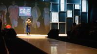 Presiden Jokowi membuka pameran Muslim Fashion Festival (Mufest) Indonesia di Plenary Hall, Jakarta Convention Center (JCC), Jakarta Pusat, Kamis (19/4/2018). (Merdeka.com/Titin)