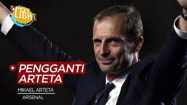Berita video spotlight, 4 calon pengganti Mikael Arteta di Arsenal.