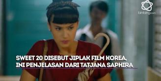 Tatjana Saphira beri klarifikasi akan kabar yang menyebutkan bahwa film Sweet 20 jiplak Miss Granny.