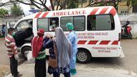 Pemulangan pasien positif Corona Covid-19 yang dinyatakan sembuh dari RSUDZA Banda Aceh (Ist)