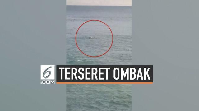 Penyelamatan seorang wisatawan yang asing terseret ombak dan nyaris tenggelam di Taiwan. Sebelumnya penduduk setempat telah memberi peringatan tentang arus laut yang kuat tapi diabaikan.