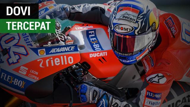 Berita video free practice (FP) kedua di MotoGP Qatar di mana Andrea Dovizioso jadi yang tercepat, Valentino Rossi posisinya tercecer kali ini, dan pebalap asal Malaysia, Hafizh Syahrin menempati posisi ketiga dari belakang dalam daftar, Jumat (16/3/...