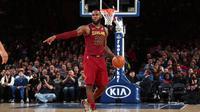 Bintang Cleveland Cavaliers, LeBron James (Twitter NBA)