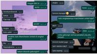 Chat Bilang 'Sayang Kamu' ke Pacar. (Sumber: Twitter/@jocularjee dan Twitter/@paiiapel)