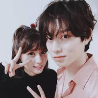 Heechul Super Junior - Momo TWICE (sumber: twitter/@heechulfacts)