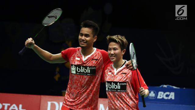 Tontowi Ahmad   Liliyana Natsir Melenggang ke Final Indonesia Open 2017 e7bad9814c