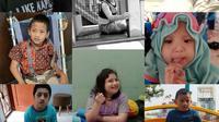 Anak-anak dengan Angelman Syndrome. Foto: Rani Himiawati Arriyani