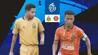 BRI Liga 1 - Duel Pemain - Bhayangkara FC Vs Persiraja Banda Aceh - Evan Dimas Vs Defri Riski (Bola.com/Adreanus Titus)