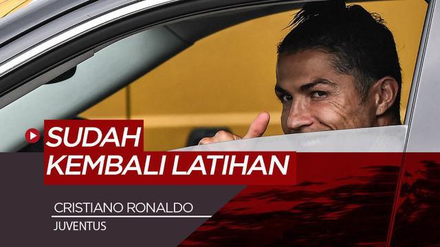 Berita Video Cristiano Ronaldo sudah kembali ke Juventus untuk tes medis dan latihan