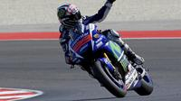 Jorge Lorenzo bukan hanya start terdepan, tapi juga mencatat rekor pole baru di Sirkuit Misano.
