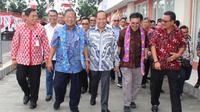 Kunjungan kerja Nasution ini, diawali dengan mendatangi Kantor Administrator KEK Bitung.