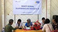 Peresmian dan pengobatan gratis kepada masyarakat di sekitar Klinik merupakan bentuk apresiasi kepada masyarakat Indonesia yang percaya BCA