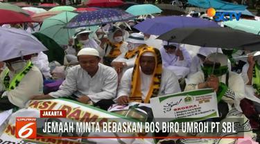 Presiden Jokowi diminta membebaskan pemilik PT SBL karena ada sekitar 6.000 jemaah  yang tidak bisa berangkat umrah.