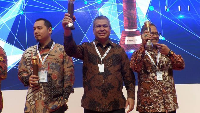 Mesir memboyong enam Primaduta Award dari Presiden Jokowi. (KBRI Kairo)