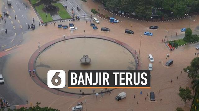 LIPI ungkap alasan Jakarta terus diterjang banjir salah satunya karena lokasi Jakarta yang berada di dataran rendah.