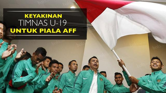 Video pelepasan Timnas Indonesia U-19 untuk Piala AFF U-19 2016 di Hanoi, Vietnam, pada Jumat (9/9).