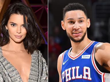 Kendall Jenner dikabarkan putus dari Ben Simmons karena keduanya sama-sama sibuk dengan jadwal kerja. (People)