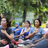 Yoga Gembira (Adrian Putra/Fimela.com)