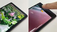 Oppo perlihatkan smartphone pertama mereka dengan teknologi kamera selfie di bawah layar. (Doc: Brian Shen /Weibo)
