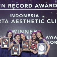 Penghargaan JAC di  th Golden Record Award Night/dok.JAC