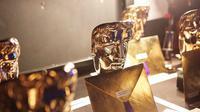 Piala BAFTA. (Foto: Instagram @BAFTA)