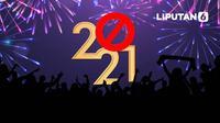 Banner Infografis 3 Larangan Terkait Perayaan Tahun Baru 2021. (Liputan6.com/Abdillah)